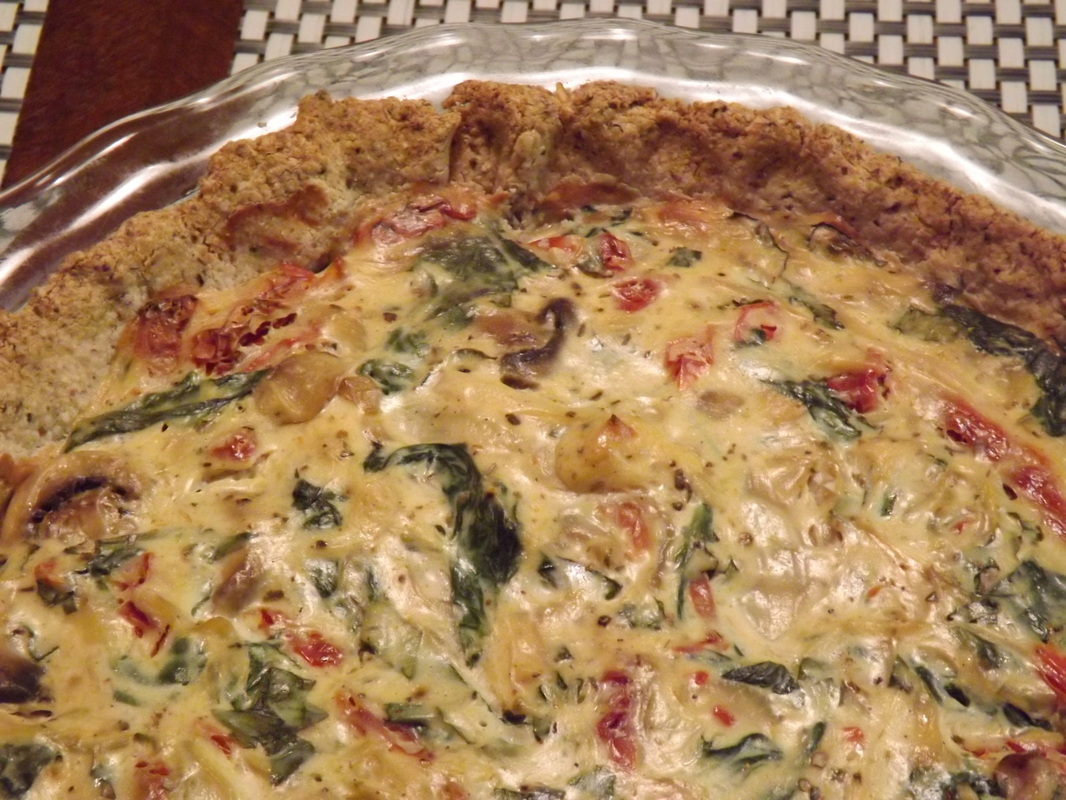 No-Egg Vegetable Quiche